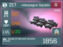 Harpagus Squad R Lv1 Front