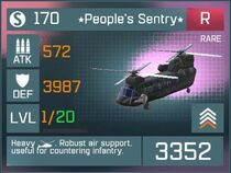 Peoples Sentry R Lv1 Front