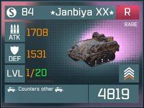 Janbiya XX R Lv1 Front
