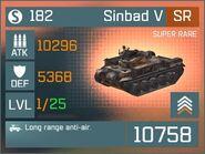 Sinbad V SR Lv1 Front