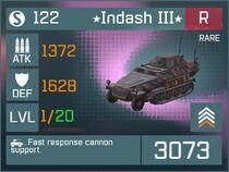 Indash III R Lv1 Front