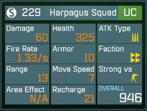 Harpagus Squad UC Lv1 Back