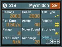 Myrmidon SR Lv1 Back