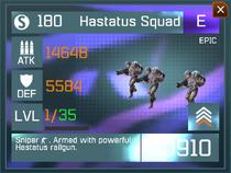 Hastatus Squad