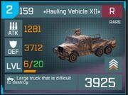 Rare Hauling Vehicle1