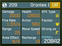 Orontes I UR Lv1 Back