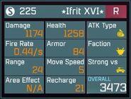 Ifrit XVI R Lv1 Back