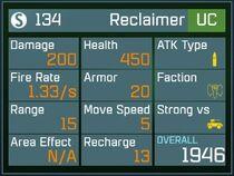 Reclaimer UC Lv1 Back