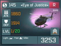 Eye of Justice R Lv1 Front