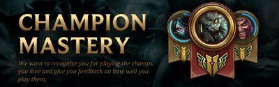 Champion Mastery 1