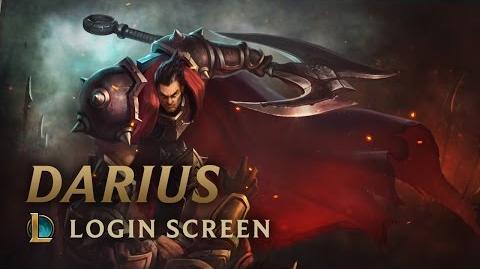 Darius, the Hand of Noxus - Login Screen