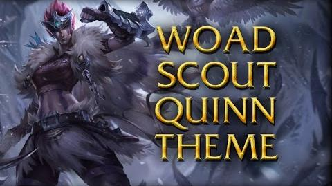 LoL Login theme - Chinese - 2014 - Woad Scout Quinn