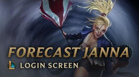 Forecast Janna - Login Screen