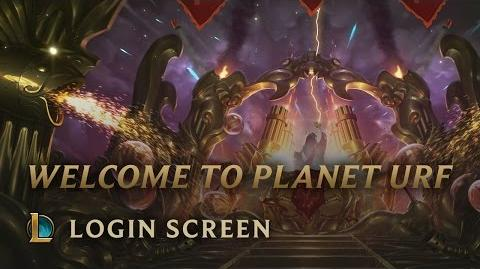 Welcome to Planet Urf - Login Screen