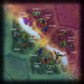 Summoner's Rift jungle map with monsters.png