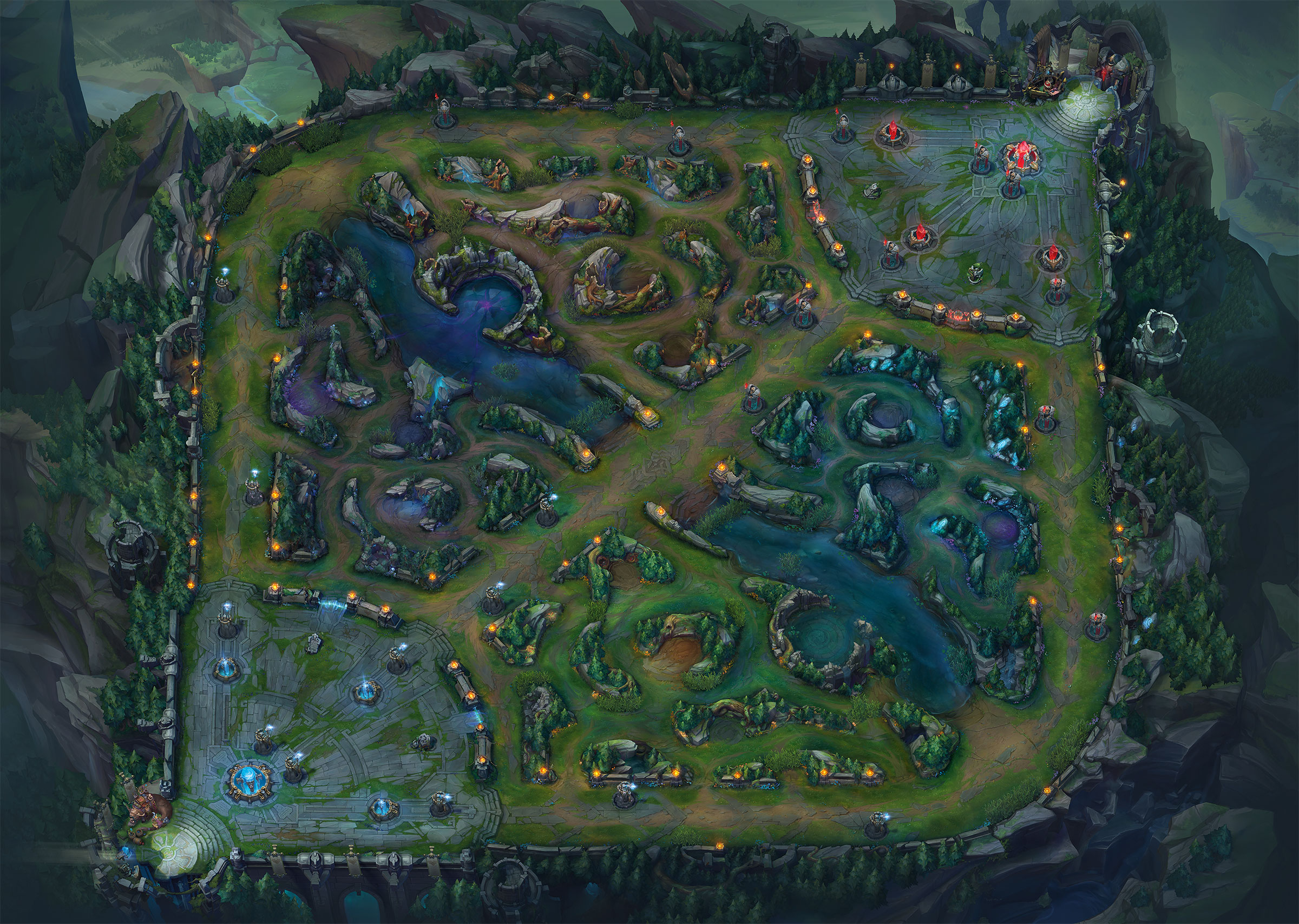 image summoner s rift update map league of legends wiki