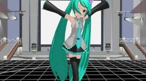 MMD Vocaloid Nyan Nyan Dance