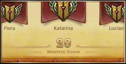 Champion Mastery 3