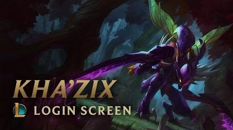 Kha'Zix, the Voidreaver - Login Screen