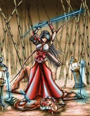 Nhan-Fiction Shrine Maiden Archer Final (1)