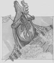 Bilgewater crest in-game concept art