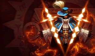 Twisted Fate MusketeerSkin