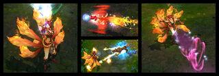 Ahri Foxfire Screenshots