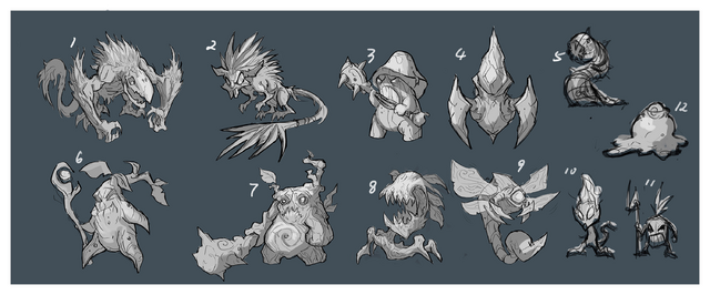 Summoner's Rift Update Creature Wraith Camp 1