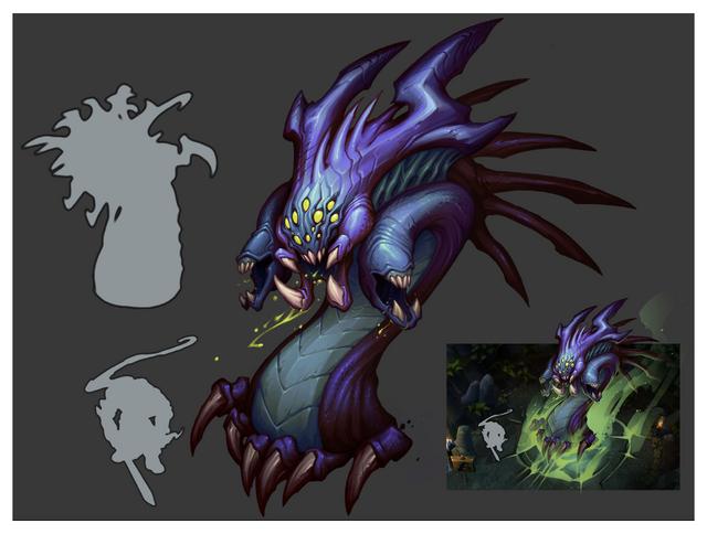 Summoner's Rift Update Creature Baron Color