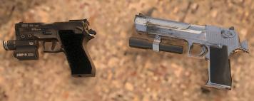 Archivo:P220 vs Magnum.jpg