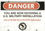 Military sign 2