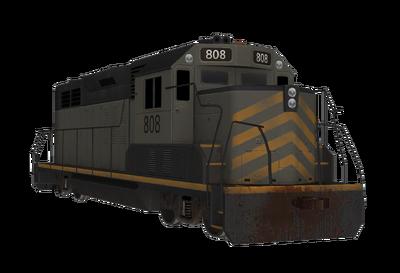 Train engine military