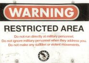Military sign 13a