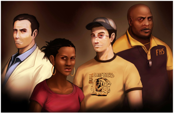 File:Left 4 Dead 2 Survivors by Operative Nova Eagle.jpg