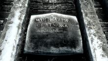 Wall inscription