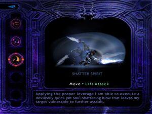 Shatter spirit