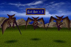 Evil bat front