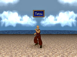 Tetsu battle front