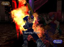 Burning flare 2