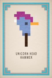 Unicorn Head Hammer