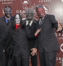 Slipknot,in the Grammy awards!
