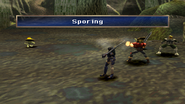 Myconido uses Sporing