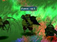 Fruegel uses Power up