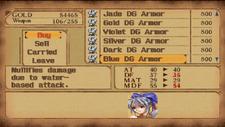 Blue Dragon Armor in Store