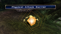 Lizard Man uses Physical Attack Barrier