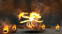 Fire Bird and Lava Balls