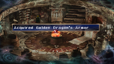 Golden Dragon's armor Chest Moon that never sets