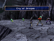 Baby Dragon uses Cry of Dragon