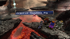 Saphire Pin from Dabas