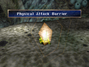 Screw Shell uses Physical Attack Barrier